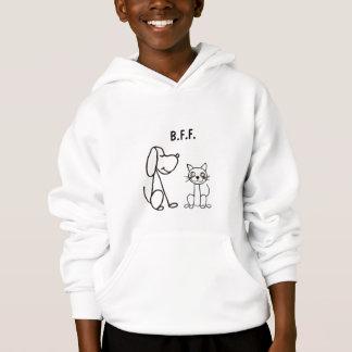 Het Overhemd van de Cartoon van de Hond AE= BFF en