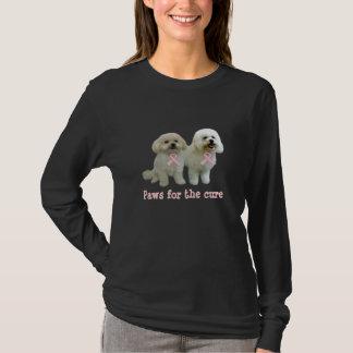 Het Overhemd van de Dames van Kanker van de Borst T Shirt