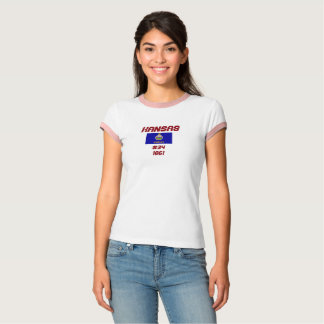 Het Overhemd van de Douane van de Vlag van de T Shirt