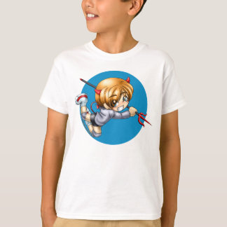 Het Overhemd van de Duivel van Chibi, kind T Shirt