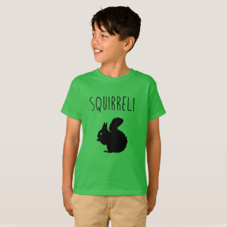 Het overhemd van de eekhoorn t shirt