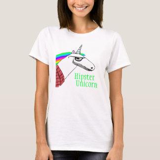 Het Overhemd van de Eenhoorn van Hipster T Shirt