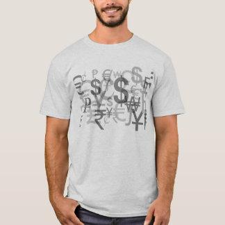Het Overhemd van de Effectenbeurs van het Symbool T Shirt