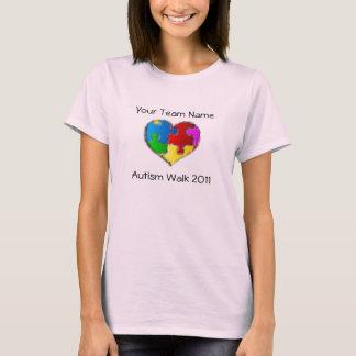 Het Overhemd van de Gang 2011 van het autisme T Shirt