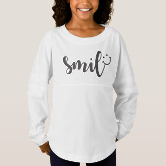 Het Overhemd van de Geest van de Meisjes van de Jersey Shirt
