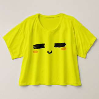 Het Overhemd van de Glimlach van Kawaii T Shirts