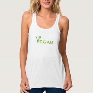 Het Overhemd van de Gymnastiek van de veganist Tanktop