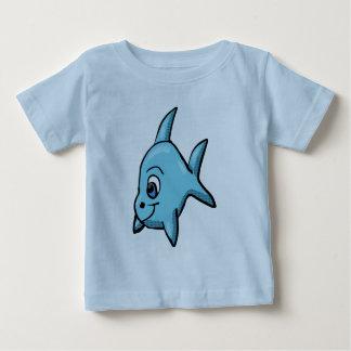 Het overhemd van de Haai van Chibi Baby T Shirts