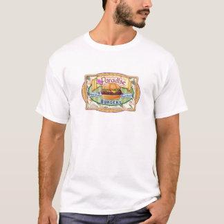 Het overhemd van de Hamburger van het paradijs T Shirt