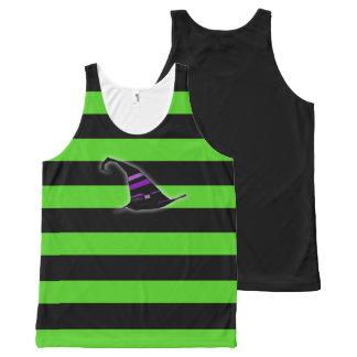 Het Overhemd van de Heks van Halloween All-Over-Print Tank Top
