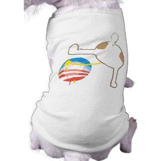 Het Overhemd van de Hond anti-Obama Shirt