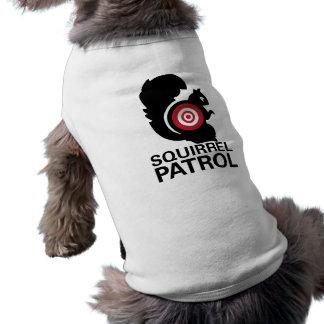 Het Overhemd van de Hond van de Patrouille van de Mouwloos Hondenshirt