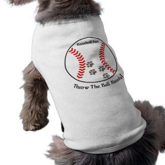 Het Overhemd van de Hond van de Ventilator van het Mouwloos Hondenshirt