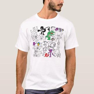 Het Overhemd van de Krabbel van MSPaint T Shirt