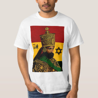 Het Overhemd van de Kroon van Selassie T Shirt