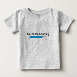 """""""Het Overhemd van de Lading Cuteness"""" Baby T Shirts"""