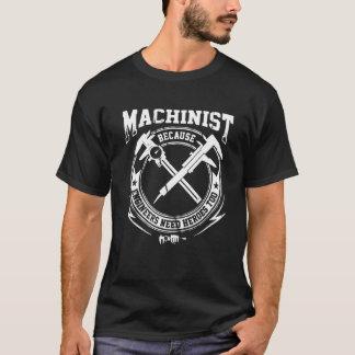 Het Overhemd van de machinist T Shirt
