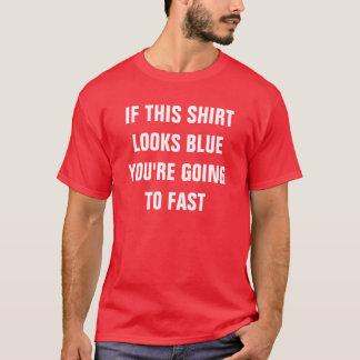 Het Overhemd van de MAXIMUM SNELHEID van de fysica T Shirt