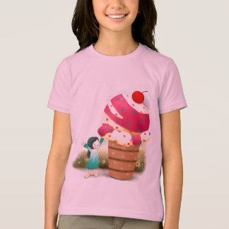 Het overhemd van de Meisjes van het roomijs T Shirt