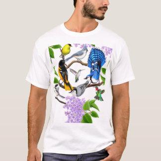 Het overhemd van de Minnaars van de Vogel van de T Shirt