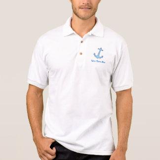 Het Overhemd van de Naam van het anker Polo