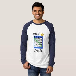 Het Overhemd van de Nacht BINGO T Shirt