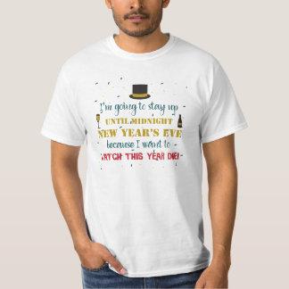 Het Overhemd van de oudejaarsavond T Shirt