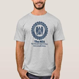 Het overhemd van de Parodie NSA