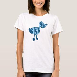 Het Overhemd van de Pelikaan van de Besnoeiing van T Shirt