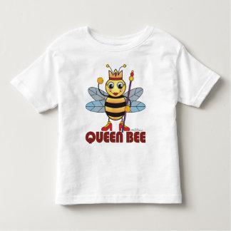 Het Overhemd van de Peuter van de bijenkoningin Kinder Shirts