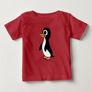Het Overhemd van de Pinguïn van de cartoon Baby T Shirts