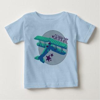 Het overhemd van de Piraat van de Hemel Baby T Shirts