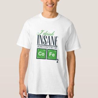 Het Overhemd van de Pret van de koffie T Shirt