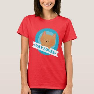 Het Overhemd van de Pret van de Minnaar van de kat T Shirt