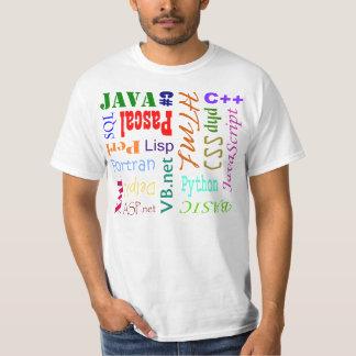 Het Overhemd van de Programmeertaal T Shirt
