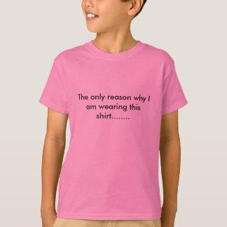 Het overhemd van de roze Jongen T Shirt