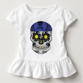 Het Overhemd van de Ruche van de Schedel van het Kinder Shirts