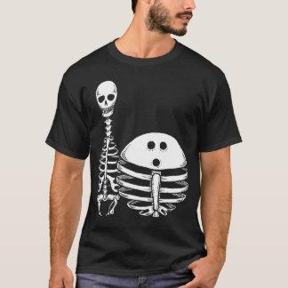 Het Overhemd van de Skeletten van het kegelen T Shirt