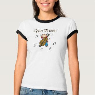 Het Overhemd van de Speler van de cello T Shirt