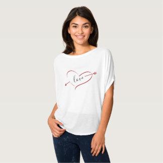Het Overhemd van de Valentijnsdag van het Hart van