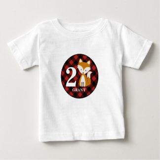 Het Overhemd van de Verjaardag van de Vos van de Baby T Shirts