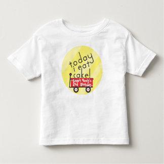 Het Overhemd van de Verjaardag van de wagen Kinder Shirts