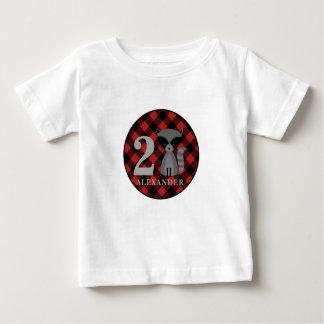Het Overhemd van de Verjaardag van de Wasbeer van Baby T Shirts