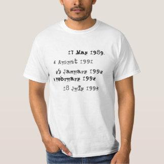 Het overhemd van de Vervaldatum van de Bibliotheek T Shirt
