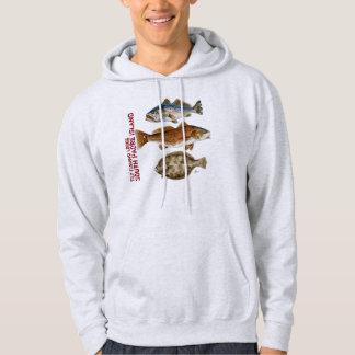 Het Overhemd van de Visserij van de Vlieg van het Hoodie