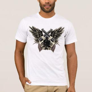 Het Overhemd van de Vleugels van het pistool T Shirt