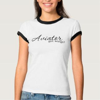 Het Overhemd van de vliegenier T Shirt