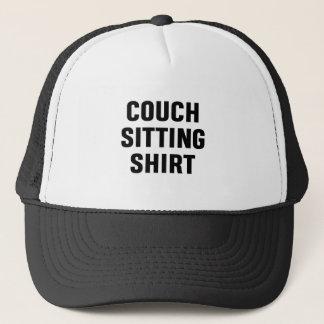 Het Overhemd van de Zitting van de laag Trucker Pet