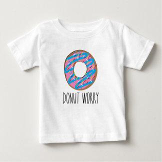 Het Overhemd van de Zorg van de doughnut Baby T Shirts