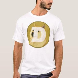 Het Overhemd van Dogecoin (stille Shibe) T Shirt